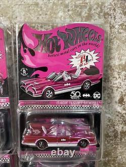 Hot Wheels RLC PINK Party car 9 carded Datsun 510 Batmobile Mustang Camaro VW