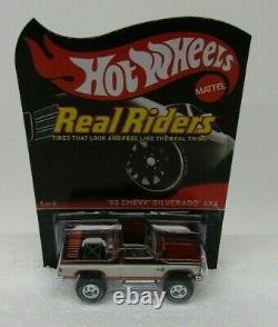 Hot Wheels RLC Series 13 Real Riders'83 Chevy Silverado 4X4 #2070/4000