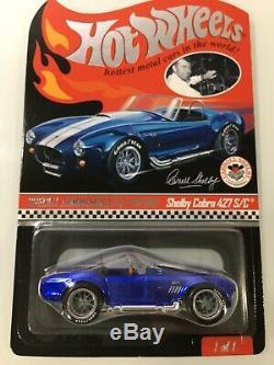 Hot Wheels Rlc Red Line Club Shelby Cobra 427 S/c