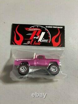 Hot wheels 27th Convention RLC Party Pink Car'70 Dodge Power Wagon HARD TO FIND
