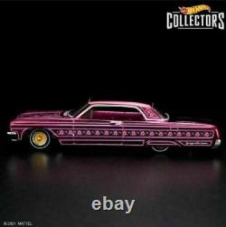 IN HAND 2021 Hot Wheels RLC Special'64 Impala Lowrider The Rosen One Pink