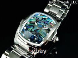 Invicta Men's 47mm GRAND LUPAH ABALONE DIAL Silver Tone Special Edition SS Watch