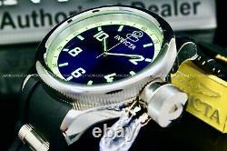 Invicta Men's 52MM Russian Diver Quinotaur SPECIAL EDITION Blue Dial Strap Watch