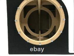 JL Audio 12W7 AE dual ported sub box SPECIAL EDITION with white plexi port trim