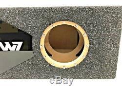 JL Audio 8W7 AE ported subwoofer box SPECIAL EDITION with black plexi port trim