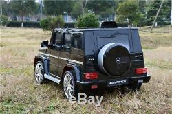 Kinderauto Mercedes-Benz G63 AMG Elektroauto Kinderfahrzeug Ledersitz