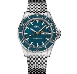 MIDO Ocean Star Captain V Automatik Special Edition Blue M0268301104100