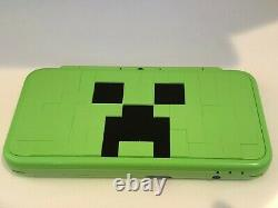 MINECRAFT CREEPER Edition New Nintendo 2DS LL Game Console All-included Used
