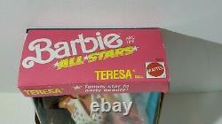 Mattel Barbie & The All-Stars Teresa Tennis Doll New In Box NIB 9353 (C) 1989