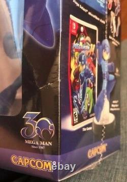 Mega Man 11 Amiibo Bundle Edition Nintendo Switch Gamestop Exclusive Sealed