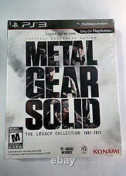 Metal Gear Solid The Legacy Collection 1987-2012 NEW SEALED with ARTBOOK