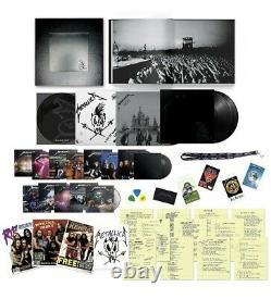 Metallica Black Album (Remastered) Deluxe Box Set 3LP/14CD/6DVD CONFIRMED