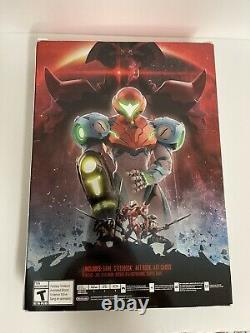 Metroid Dread Special Edition Nintendo Switch Steelbook Art In Hand Ships Fast