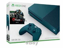 Microsoft Xbox One S Gears of War 4 Special Edition Bundle 500GB Deep Blue Cons