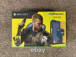 Microsoft Xbox One X Cyberpunk 2077 Special Edition Console Free Shipping