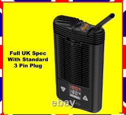 Mighty Portable Vaporiser Storz & Bickel Latest Version 20% Extra battery UKPlug