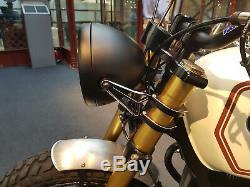 Motorbike LED Headlight 7.7 Projector for Cafe Racer Retro Custom Bike