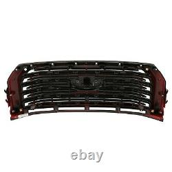 NEW 2015-2017 F-150 Ford Lariat Special Edition Red Accent Grille Grill WithO Cam