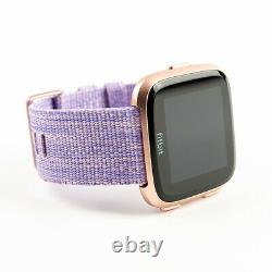 NEW Fitbit Versa Special Edition Lavender With Extra Classic Purple Band New