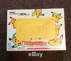 NEW Nintendo 3DS XL Pikachu Yellow Edition Sealed US Version