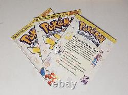 NEW Nintendo Pokemon Special Edition Strategy Trainer's Guide Yellow Red Blue