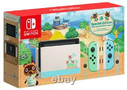 NEW Nintendo Switch Animal Crossing New Horizons Console Special Edition In-Hand
