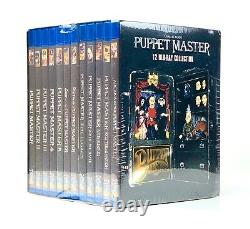 NEW Puppet Master Blu-ray 12 Disc Collection Box Set Blade Pinhead Six-Shooter
