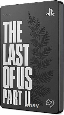 NEW, The Last of Us Part II Special Limited Edition Game Drive 2TB Ellie Tattoo
