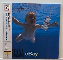 NIRVANA Nevermind 200-Gram VINYL LP Sealed Japanese OBI Audiophile Foo Fighters