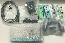 NO TABLET Nintendo Switch Animal Crossing Special Edition Joy-Cons Dock Cables