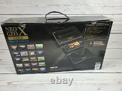 Neo Geo X -Gold Limited Edition + Handheld + Arcade Stick Mega Pak MINT
