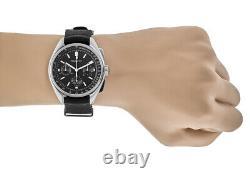 New Bulova Archive Special Edition Lunar Pilot Black Dial Men's Watch 96A225