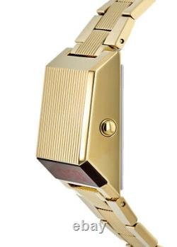 New Bulova Special Edition Archive Digital Computron Gold Men's Watch 97C110