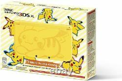 New Nintendo 3DS Pikachu Yellow Special Edition NN3DS Console, 2DS Pokemon NEW