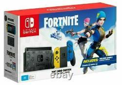 New Nintendo Switch Fortnite Special Edition Wildcat Bundle RARE! REGION FREE