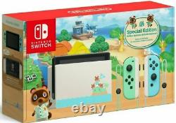 New Nintendo Switch HAC-001(-01) Animal Crossing New Horizon Special Edition
