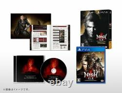 New PS4 Nioh Complete Edition withmini Soundtrack CD Booklet Japan KTGS-40404