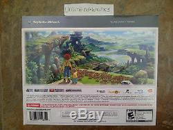 Ni no Kuni Wrath of the White Witch Wizard's Edition PS3 Brand New and Sealed