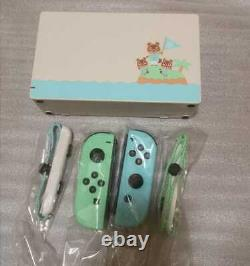 Ninendo Switch Animal Crossing Special Edition Only Joy-Con and Dock