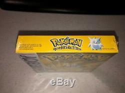 Nintendo Gameboy Pokemon YELLOW VERSION Pikachu Special Edition Sealed
