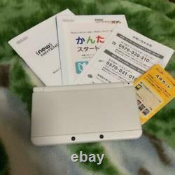 Nintendo NEW 3DS Kisekae Plate WHITE Japanese version