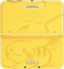 Nintendo New 3DS XL Pikachu Yellow Edition 3DS XL Brand New