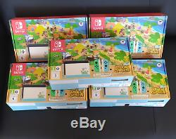 Nintendo Switch Animal Crossing BRAND NEW Special Edition Console + GAME CODE