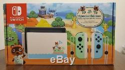 Nintendo Switch Animal Crossing New Horizon Special Edition Console