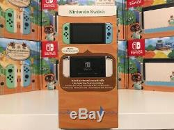 Nintendo Switch Animal Crossing New Horizon Special Edition Console IN HAND