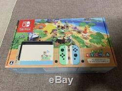 Nintendo Switch Animal Crossing New Horizon Special Edition Japan