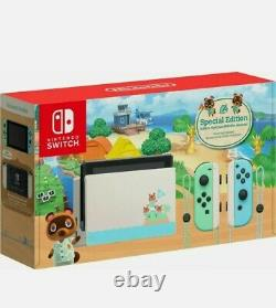 Nintendo Switch Animal Crossing New Horizons Console SPECIAL Edition NEW