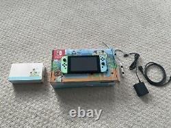 Nintendo Switch Animal Crossing New Horizons Special Edition 32GB Console, Great