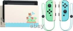 Nintendo Switch Animal Crossing New Horizons Special Edition Console Bundle