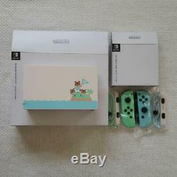 Nintendo Switch Animal Crossing Special Edition DOCK & Joy-Con NO console 464